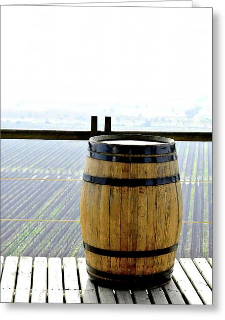 Barrel Greeting Card by Fernando Lopez Lago