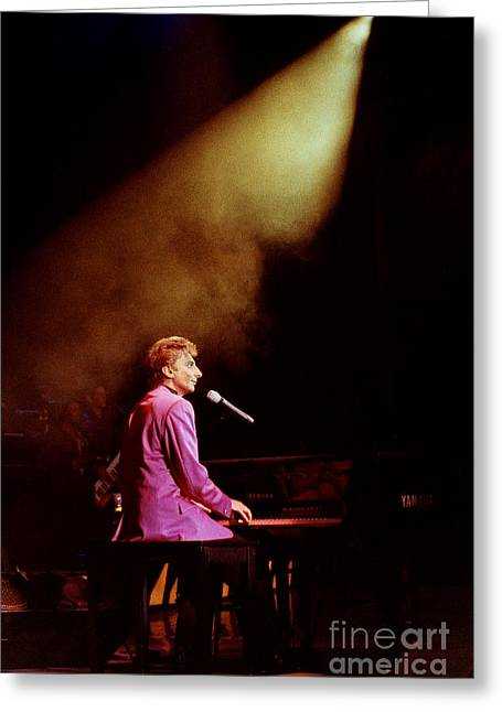 Barry Manilow-0803 Greeting Card by Gary Gingrich Galleries