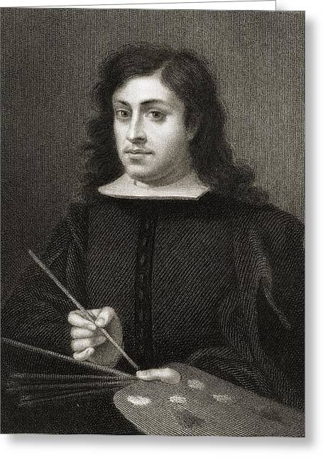 Esteban Greeting Cards - Bartolome Esteban Murillo C.1618-1682 Greeting Card by Ken Welsh