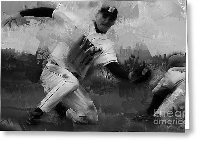 Base Ball  Greeting Card by Gull G