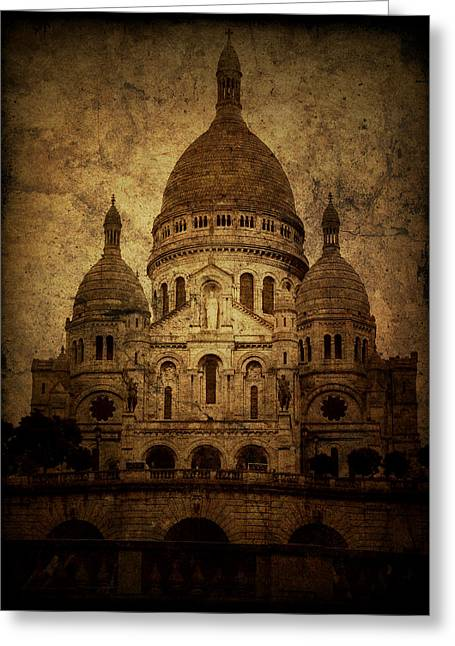 Rustic Photographs Greeting Cards - Basilica Greeting Card by Andrew Paranavitana