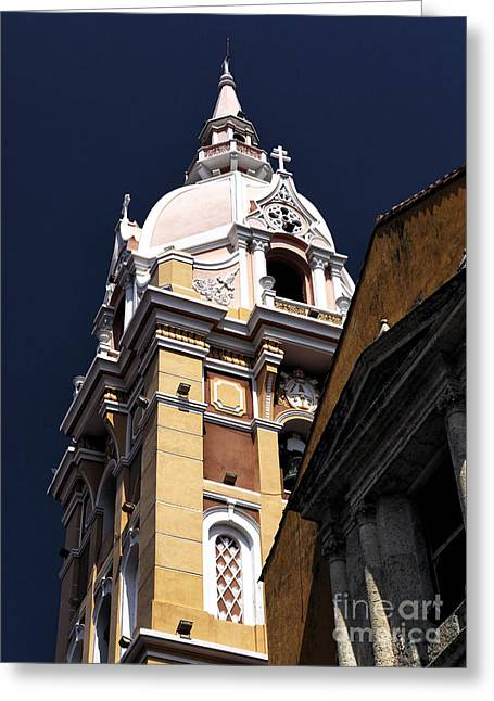 Saint Catherine Photographs Greeting Cards - Basilica of Saint Catherine Greeting Card by John Rizzuto