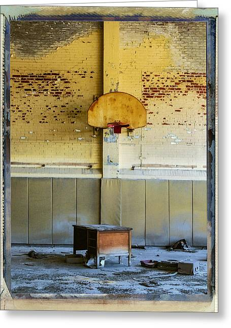 Hoops Mixed Media Greeting Cards - Basketball Diplomacy Greeting Card by Dominic Piperata