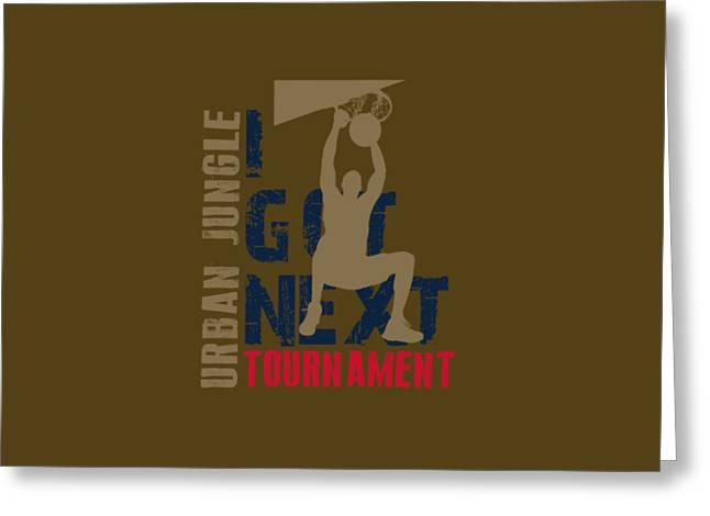 Basketball I Got Next 4 Greeting Card by Joe Hamilton