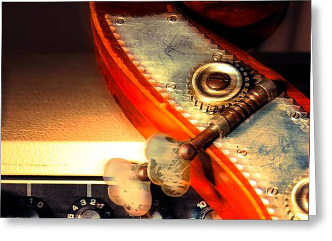 Double Bass Greeting Cards - Bass Boogie  Greeting Card by Steven  Digman