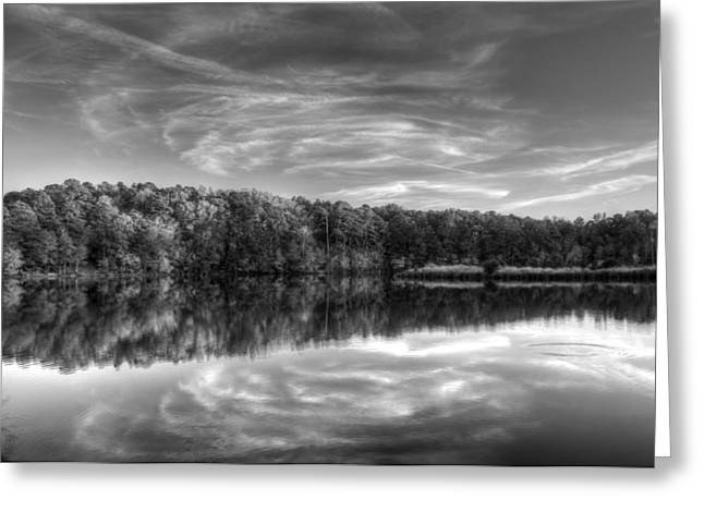 Tonemapping Greeting Cards - Bass Lake Greeting Card by Christopher McPhail