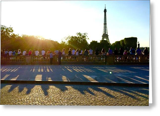 Bastille Greeting Cards - Bastille Day Patience Greeting Card by Alexi Hoeft