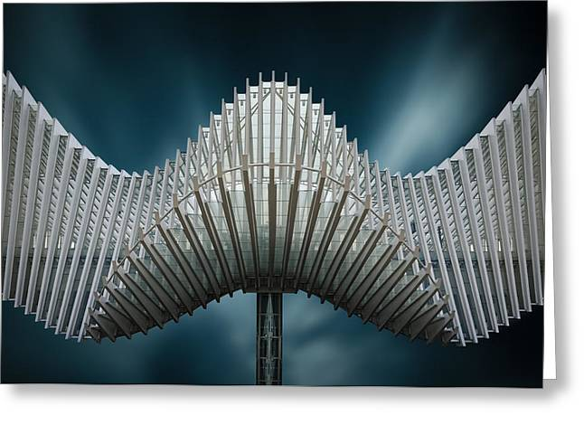 Calatrava Greeting Cards - Bat Out Of Hell Greeting Card by Michiel Hageman