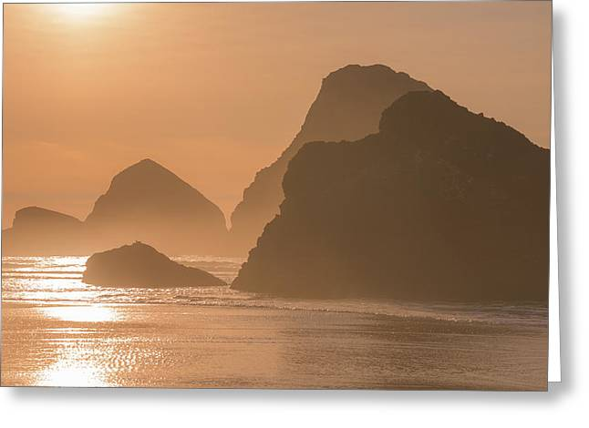 Pacific Ocean Prints Greeting Cards - Bathed in Light Greeting Card by Darren  White