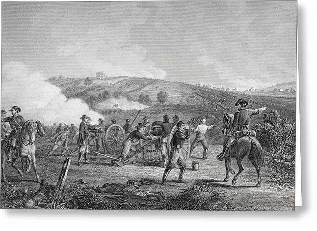 Engagement Picture Greeting Cards - Battle Of Gettysburg Pennsylvania Greeting Card by Ken Welsh