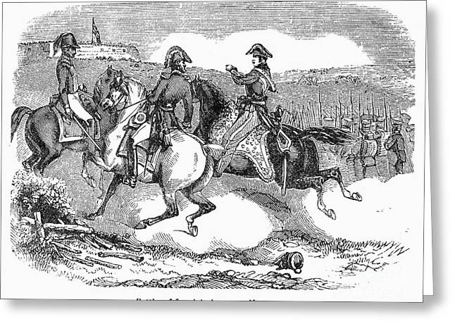 1814 Greeting Cards - Battle Of Lundys Lane Greeting Card by Granger