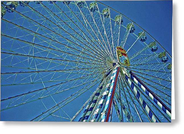 Allemagne Greeting Cards - Bavarian Fairy Wheel Greeting Card by Juergen Weiss