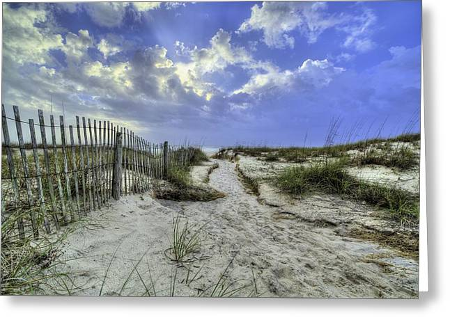 Bay County Beaches Greeting Card by JC Findley