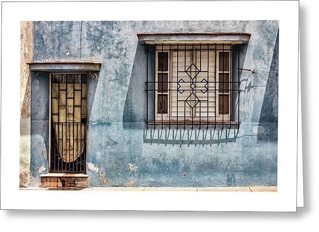 Cuban Greeting Cards - Bayamo Home Greeting Card by Dawn Currie