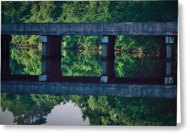 John Glass Greeting Cards - Bayou Reflections Greeting Card by John Glass