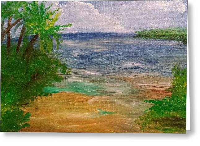 Licensor Greeting Cards - Bayside cove Greeting Card by Cindy Harvell