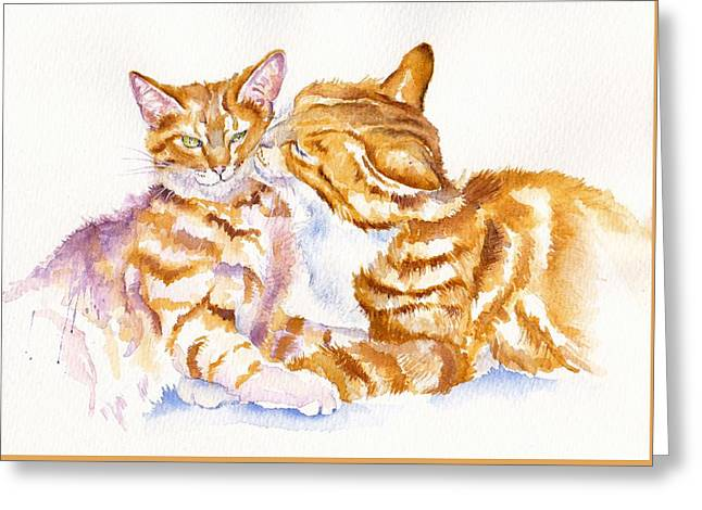 Pairs Greeting Cards - Be Adored Greeting Card by Debra Hall