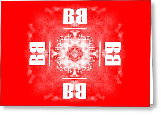 Be Yourself Greeting Cards - Be Yourself Red Greeting Card by Methune Hively