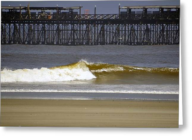 Chiclayo Greeting Cards - Beach and Pier  Greeting Card by Stefan Pettersson