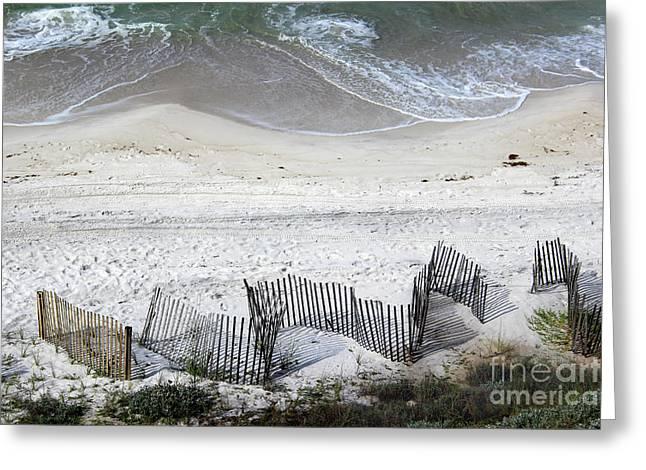 Beach Art 2016 Greeting Card by Karen Adams