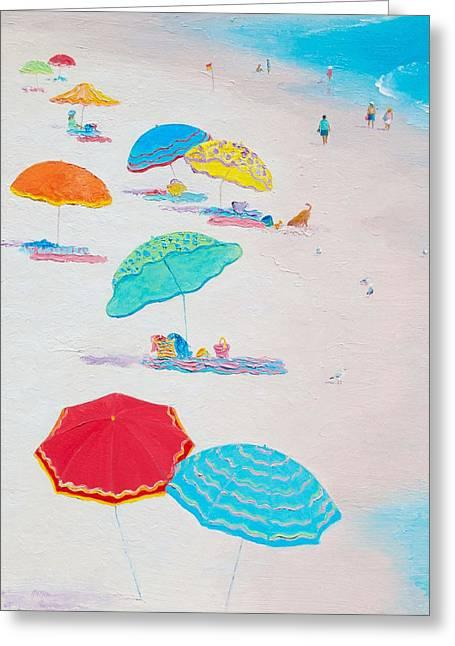 Beach Cottage Style Greeting Cards - Beach Art - Beach Living Greeting Card by Jan Matson