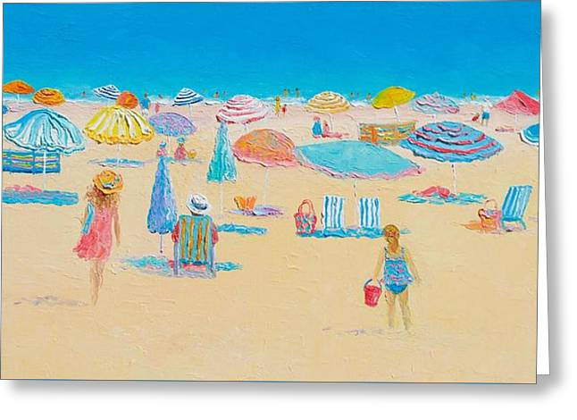 Seashore Greeting Cards - Beach Art - Every Summer has a story Greeting Card by Jan Matson