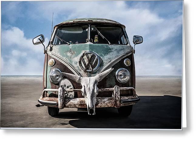 Beach Bum Greeting Card by Douglas Pittman