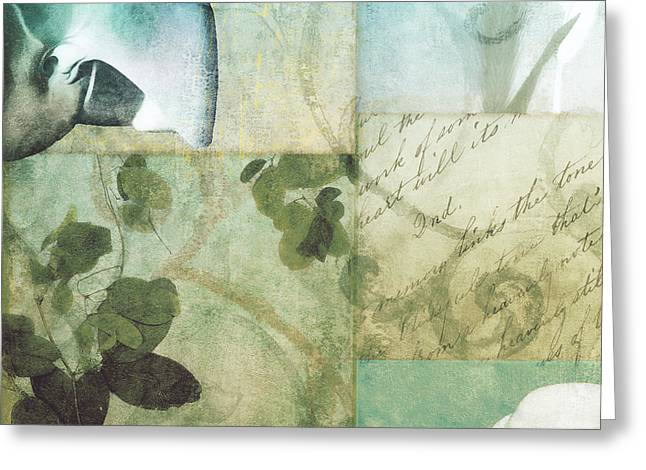 Beach Expressions II Greeting Card by Mindy Sommers