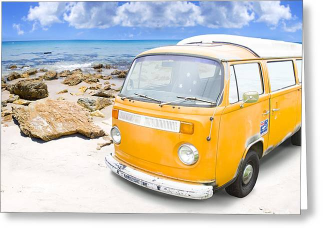 Beach Holiday Greeting Card by Jorgo Photography - Wall Art Gallery