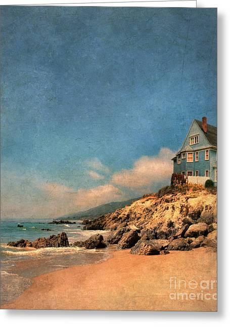 Beach House Greeting Cards - Beach House Greeting Card by Jill Battaglia
