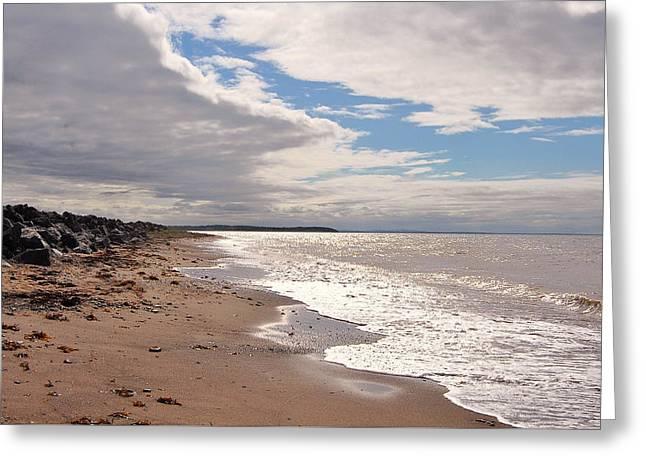 Ocean Art Photography Greeting Cards - Beach Greeting Card by Kathleen Sartoris