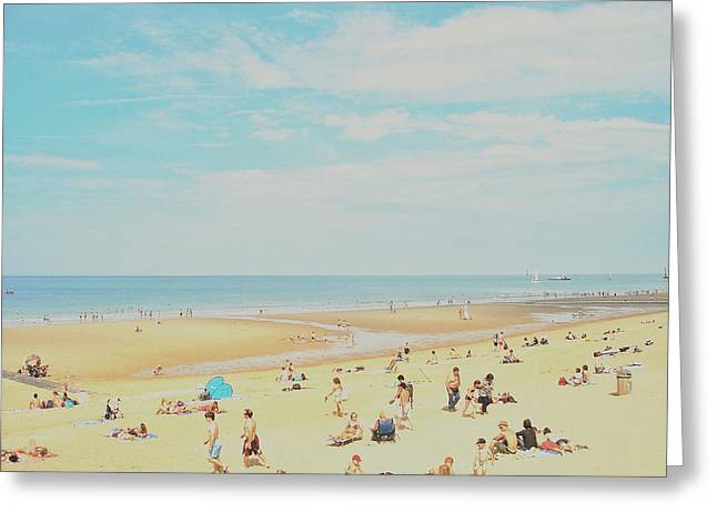 Sweltering Greeting Cards - Beach Life  Greeting Card by Connie Handscomb