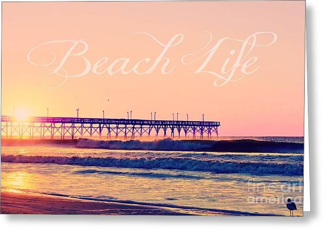 Original Photographs Greeting Cards - Beach Life Greeting Card by Kelly Nowak