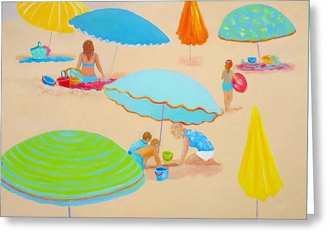Florida House Greeting Cards - Beach Living Greeting Card by Jan Matson