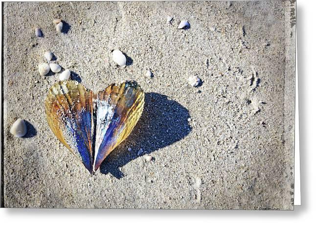 Beach Love By Sharon Cummings Greeting Card by Sharon Cummings