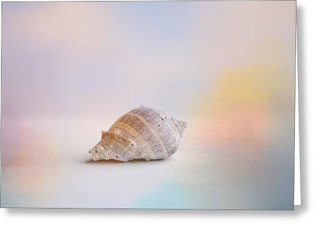 Sea Shell Art Greeting Cards - Beach Memories 2 Greeting Card by Jai Johnson
