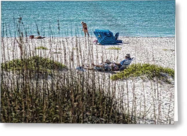 Boca Grande Greeting Cards - Beach Scene - Boca Grande - Florida Greeting Card by Jon Berghoff