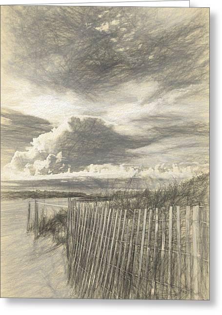 Beach Time II Greeting Card by Jon Glaser