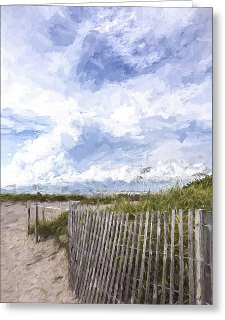 Beach Time IIi Greeting Card by Jon Glaser