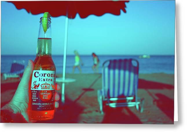 Beach Time Greeting Card by La Dolce Vita