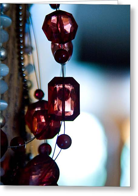 Beaded Jewelry Greeting Cards - Beaded Greeting Card by Matthew Saindon