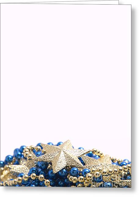 Beads Greeting Cards - Beads and Stars Pt Greeting Card by Andy Smy