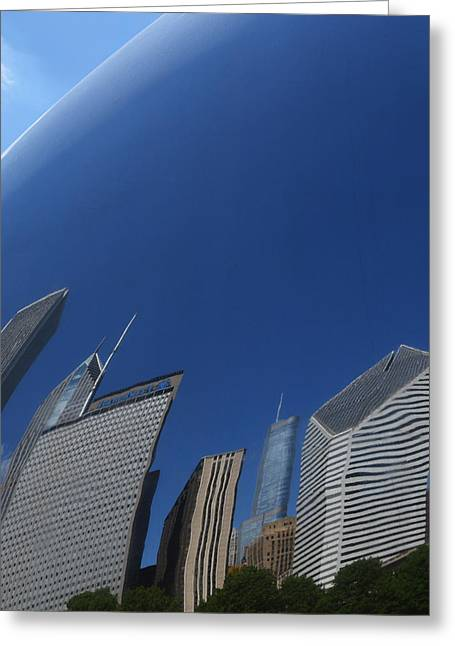 The Bean Greeting Cards - Bean Distortions Greeting Card by Richard Andrews