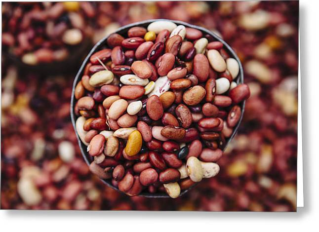 African Heritage Greeting Cards - Beans For Sale In The Old City Of Harar Greeting Card by Toby Adamson