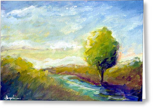 Bible Paintings Greeting Cards - Bearing Fruit Greeting Card by Dave Baysden