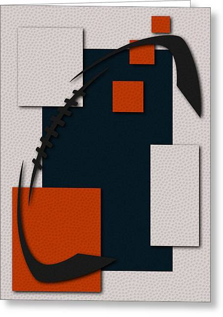 Bear Art Greeting Cards - Bears Football Art Greeting Card by Joe Hamilton