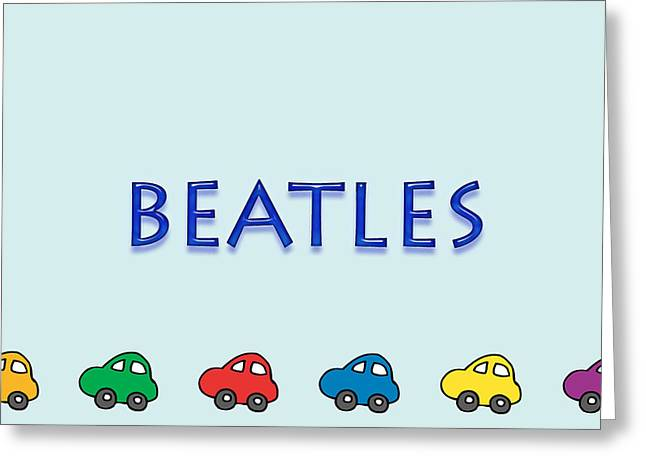 Installation Art Greeting Cards - Beatles Greeting Card by Tina M Wenger