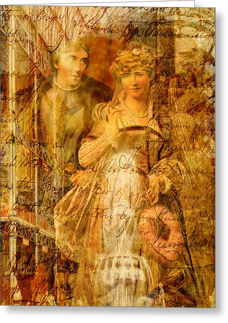 Sienna Greeting Cards - Beatrice and Benedick Greeting Card by Sarah Vernon