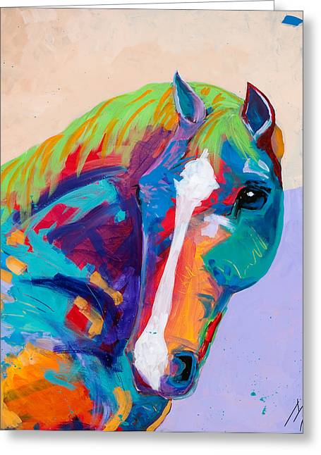 Tracy Miller Greeting Cards - Beau Greeting Card by Tracy Miller