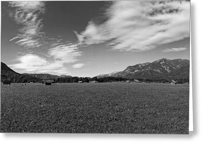 Beautiful Alpine Meadow Greeting Card by Mountain Dreams